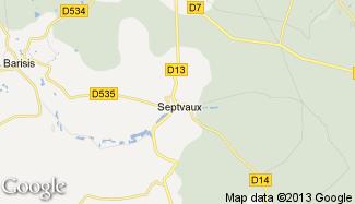 Plan de Septvaux