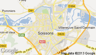 Plan de Soissons
