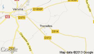 Plan de Thenailles