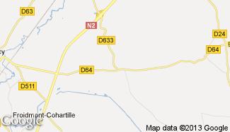 Plan de Toulis-et-Attencourt