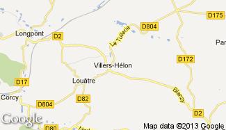 Plan de Villers-Hélon