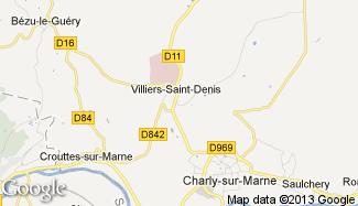 Plan de Villiers-Saint-Denis