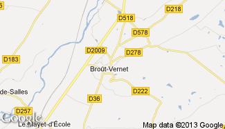 Plan de Broût-Vernet