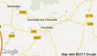 Plan de Chantelle