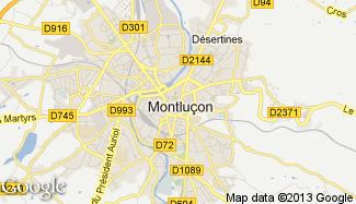 Plan de Montluçon