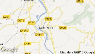 Plan de Saint-Yorre