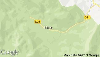 Plan de Blieux