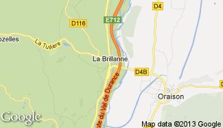 Plan de La Brillanne