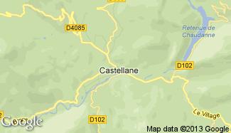Plan de Castellane