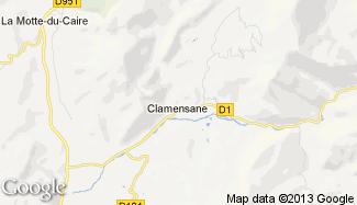 Plan de Clamensane