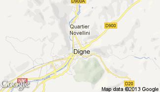 Plan de Digne-les-Bains