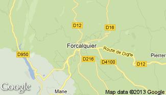 Plan de Forcalquier