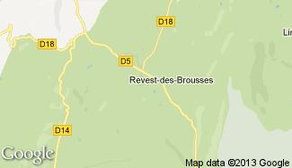 Plan de Revest-des-Brousses
