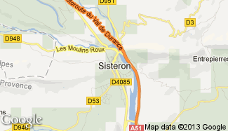 Plan de Sisteron