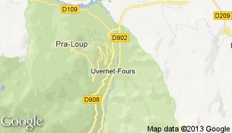 Plan de Uvernet-Fours