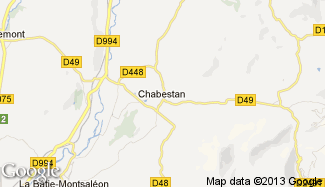 Plan de Chabestan