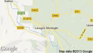 Plan de Laragne-Montéglin