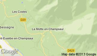 Plan de La Motte-en-Champsaur