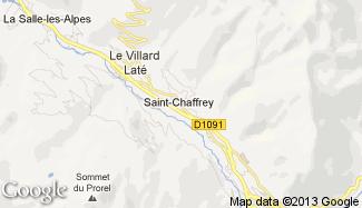 Plan de Saint-Chaffrey