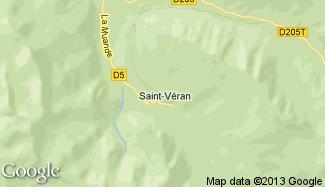 Plan de Saint-Véran