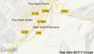 Plan de Villar-Saint-Pancrace