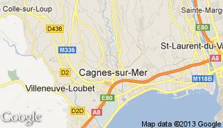 Plan de Cagnes-sur-Mer