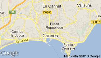 Plan de Cannes
