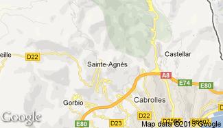 Plan de Sainte-Agnès
