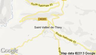 Plan de Saint-Vallier-de-Thiey