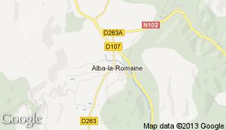 Plan de Alba-la-Romaine