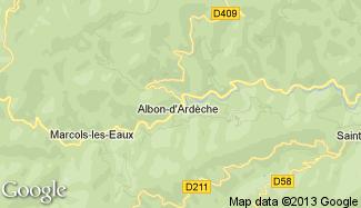 Plan de Albon-d'Ardèche