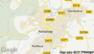 Plan de Annonay