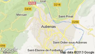 Plan de Aubenas