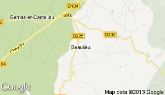 Plan de Beaulieu