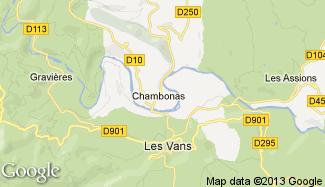 Plan de Chambonas