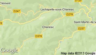 Plan de Chanéac