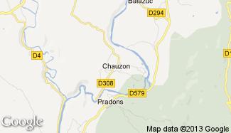 Plan de Chauzon
