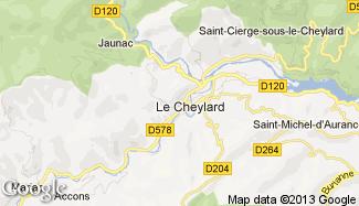 Plan de Le Cheylard