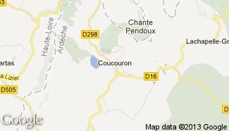 Plan de Coucouron
