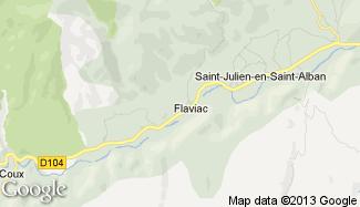 Plan de Flaviac