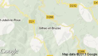 Plan de Gilhac-et-Bruzac