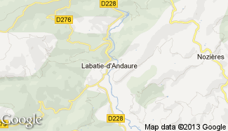 Plan de Labatie-d'Andaure