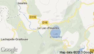 Plan de Le Lac-d'Issarlès