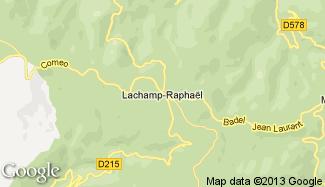 Plan de Lachamp-Raphaël