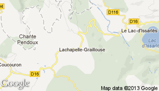 Plan de Lachapelle-Graillouse