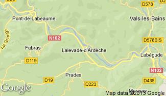 Plan de Lalevade-d'Ardèche