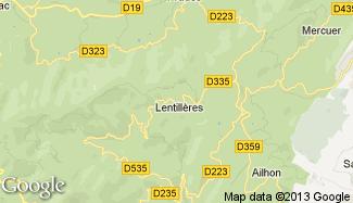 Plan de Lentillères