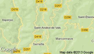 Plan de Saint-Andéol-de-Vals