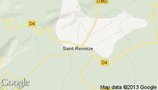 Plan de Saint-Remèze
