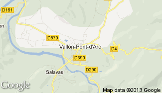 Plan de Vallon-Pont-d'Arc